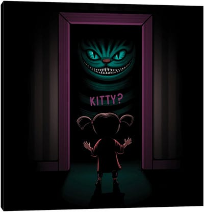 Kitty Canvas Art Print