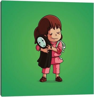 Chihiro & No-Face (Villains) Canvas Art Print
