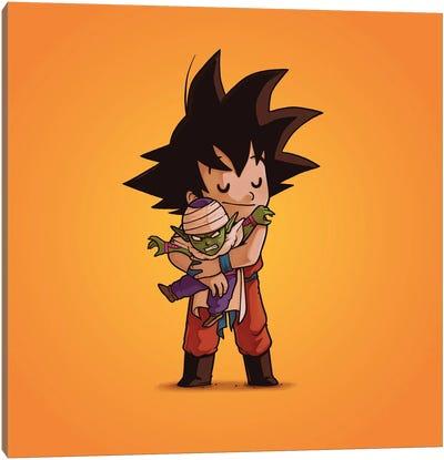 Goku & Piccolo (Villains) Canvas Art Print