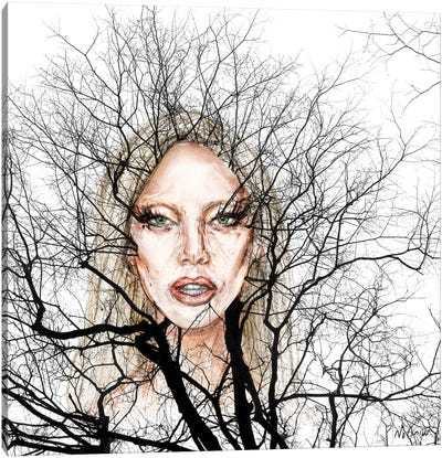GaGa Wisdom Veins Canvas Art Print
