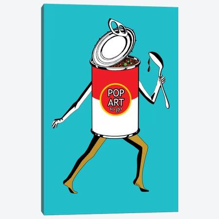 Pop Art 2-Go Canvas Print #NOT47} by Notsniw Art Canvas Print