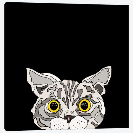 That Awkward Moment Canvas Print #NOT54} by Notsniw Art Canvas Art