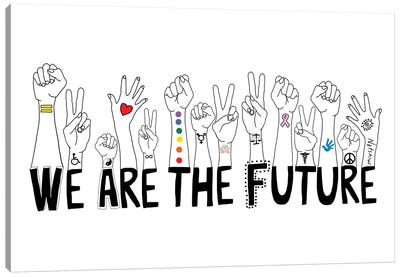 We Are The Future Canvas Art Print
