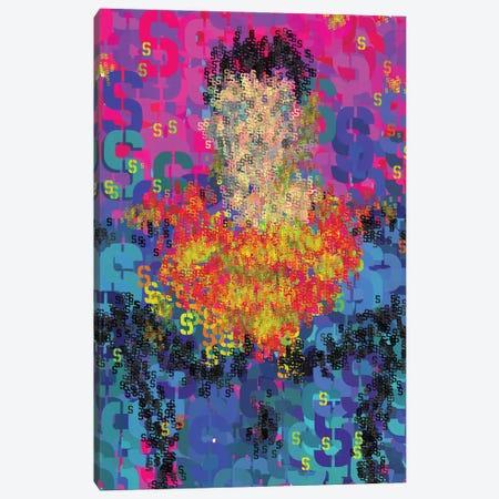 Superhero Type Art Superman Canvas Print #NOT68} by Notsniw Art Canvas Wall Art