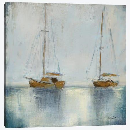 Boats I Canvas Print #NOV11} by Rick Novak Art Print