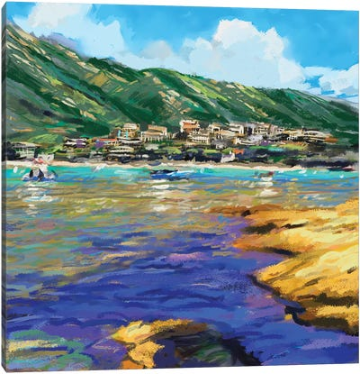 Seaside I Canvas Art Print