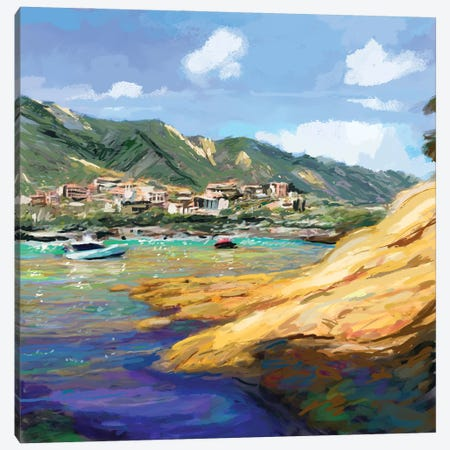 Seaside II Canvas Print #NOV13} by Rick Novak Canvas Print
