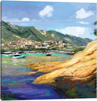 Seaside II Canvas Art Print