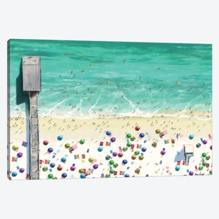 Beaches I Canvas Print #NOV14} by Rick Novak Canvas Artwork