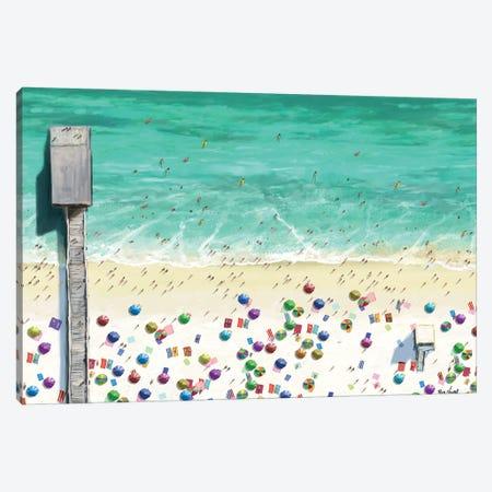 Beaches I Canvas Print #NOV14} by Rick Novak Canvas Artwork