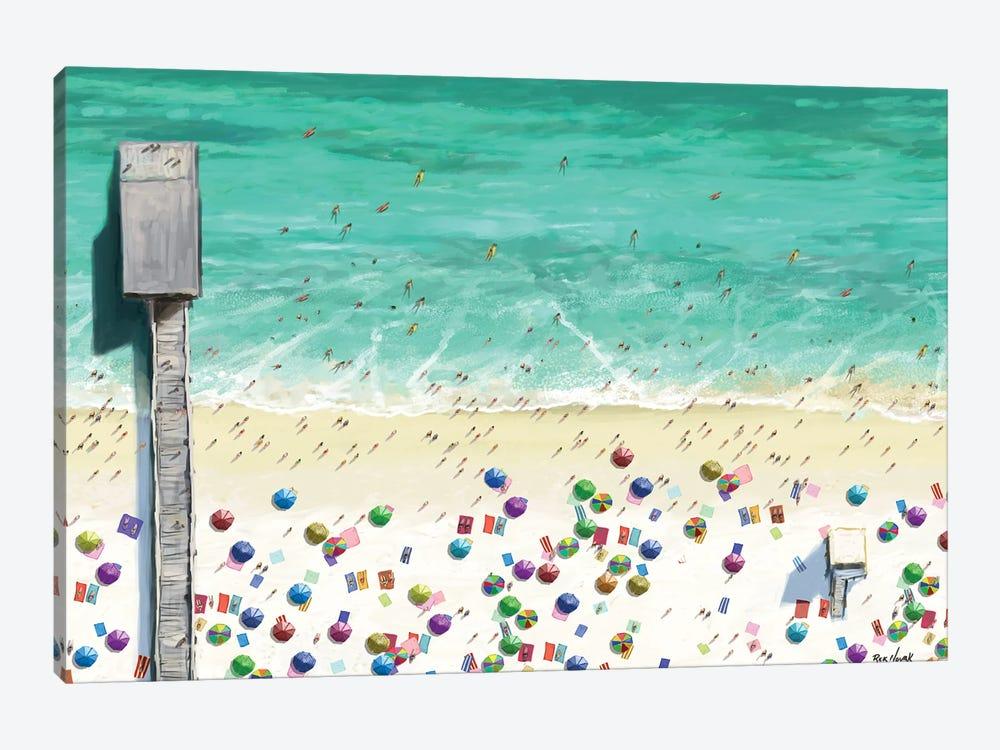 Beaches I by Rick Novak 1-piece Canvas Art
