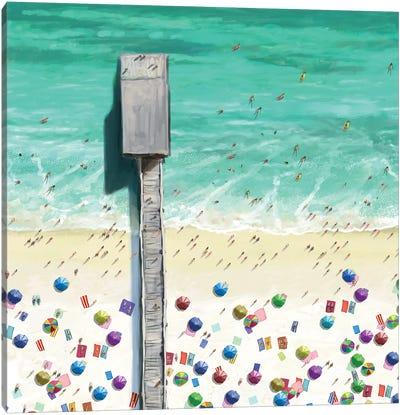 Beaches II Canvas Art Print