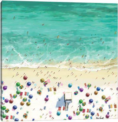 Beaches III Canvas Art Print