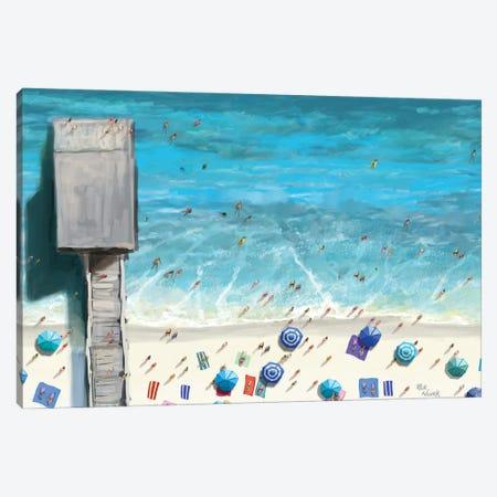 Beaches IV Canvas Print #NOV17} by Rick Novak Canvas Artwork