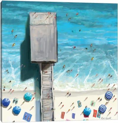 Beaches V Canvas Art Print