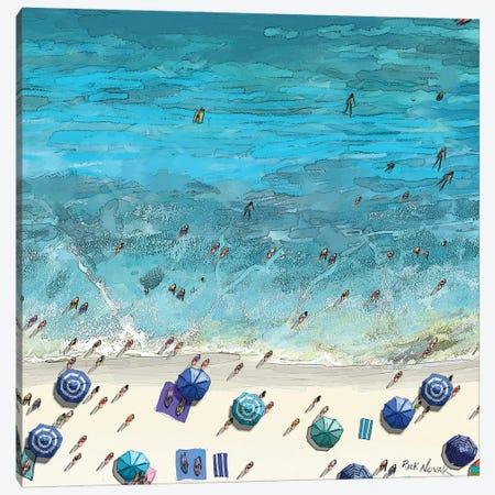 Beaches VI Canvas Print #NOV19} by Rick Novak Canvas Print