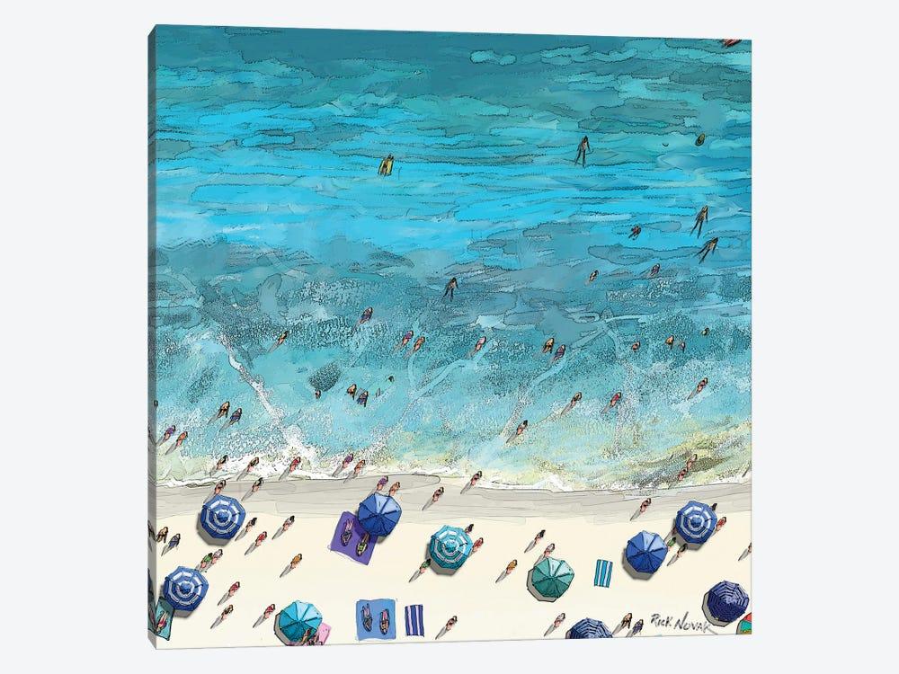 Beaches VI by Rick Novak 1-piece Canvas Art Print