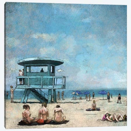 Beaches VII Canvas Print #NOV20} by Rick Novak Canvas Artwork