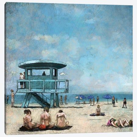 Beaches VII Canvas Print #NOV20} by Rick Novak Canvas Artwork
