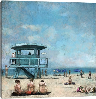 Beaches VII Canvas Art Print
