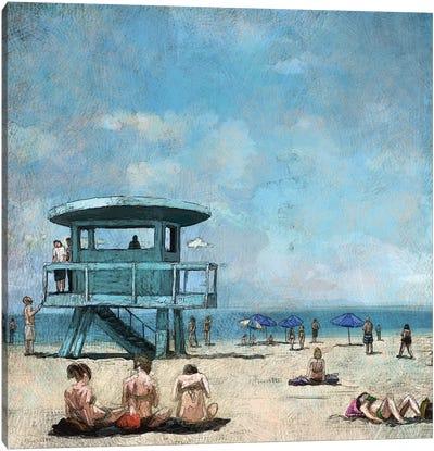 Beaches VII Canvas Art Print