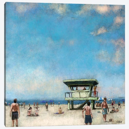 Beaches VIII Canvas Print #NOV21} by Rick Novak Canvas Artwork
