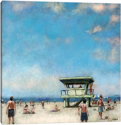 Beaches VIII Canvas Art Print