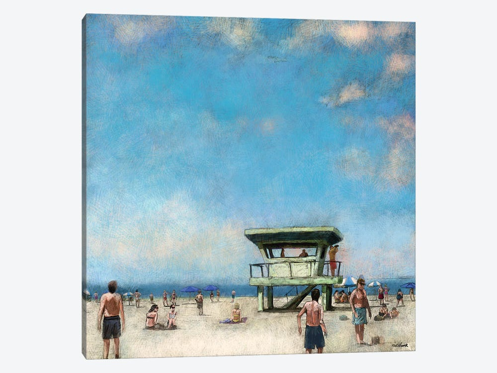 Beaches VIII by Rick Novak 1-piece Canvas Art