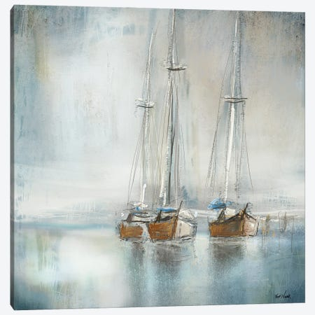 Boats II Canvas Print #NOV22} by Rick Novak Canvas Art