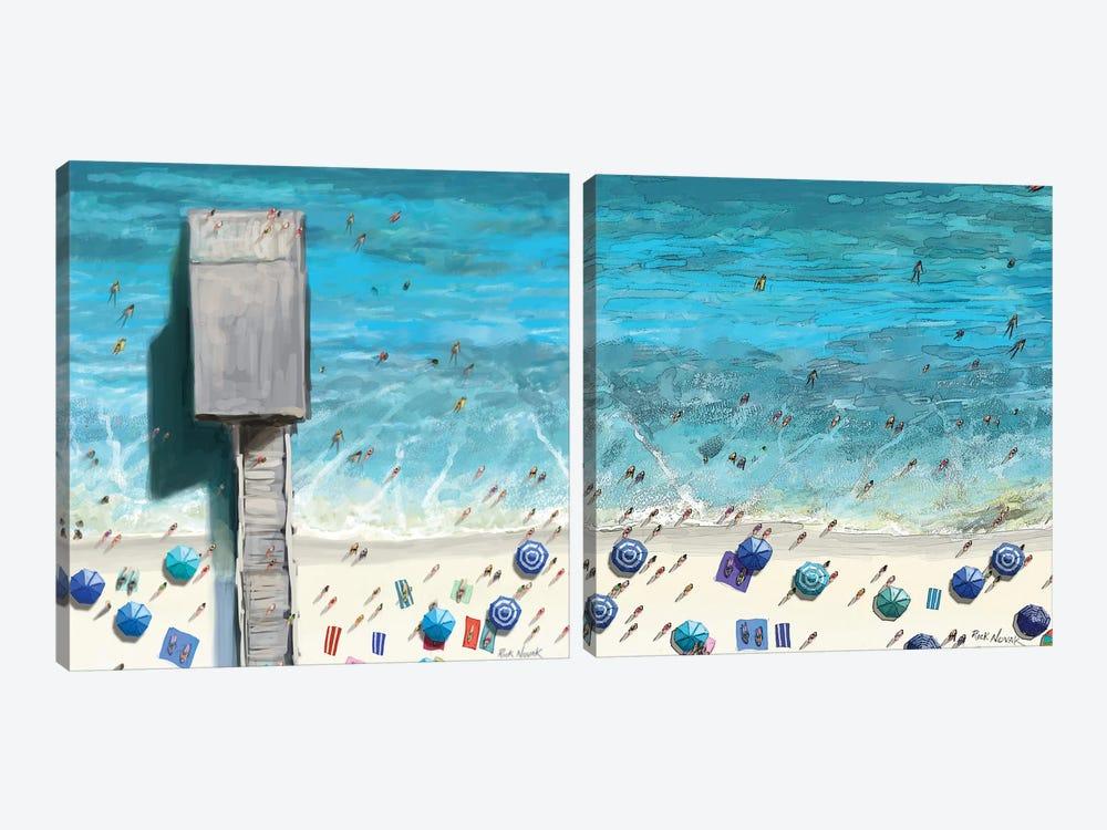 Beaches Diptych II by Rick Novak 2-piece Canvas Artwork