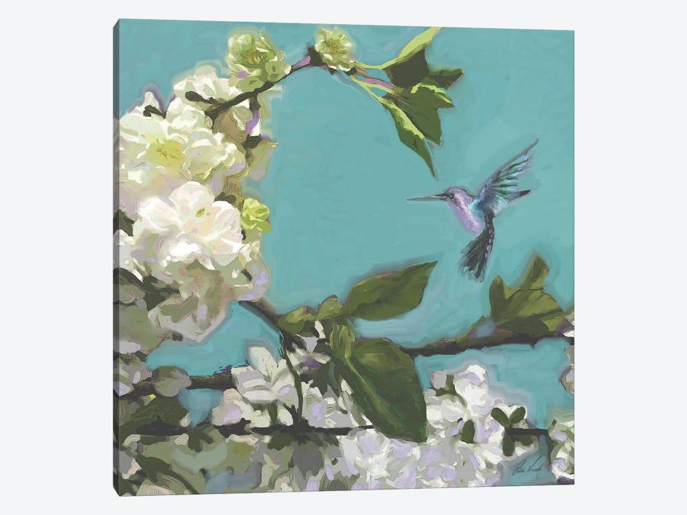 Hummingbird Florals I by Rick Novak 1-piece Art Print