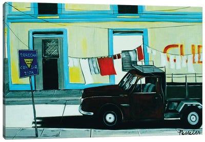 Cuban Corner Canvas Art Print