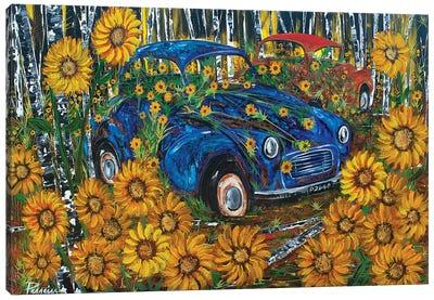 Morris Minor Canvas Art Print