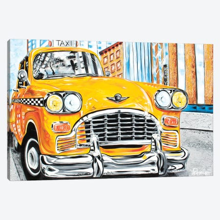 Mr. Cab Driver Canvas Print #NPE19} by Nigel Perreira Canvas Print