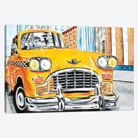 Mr. Cab Driver Canvas Print #NPE19} by Nigel Perreira Canvas Print