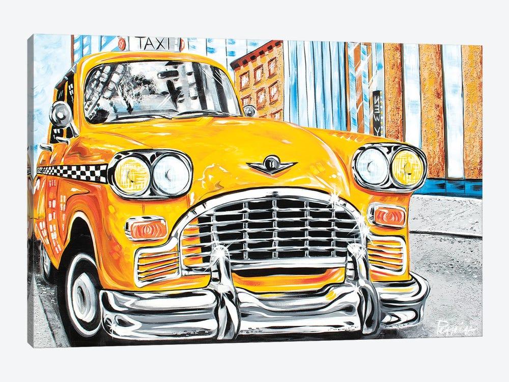 Mr. Cab Driver by Nigel Perreira 1-piece Art Print