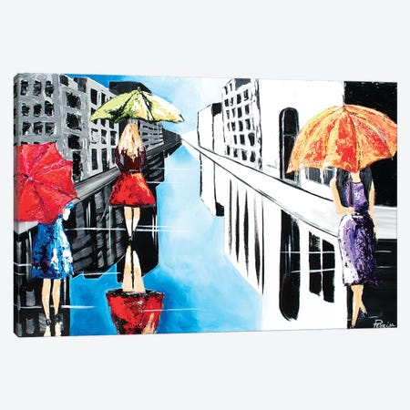 Promenade Canvas Print #NPE21} by Nigel Perreira Canvas Wall Art