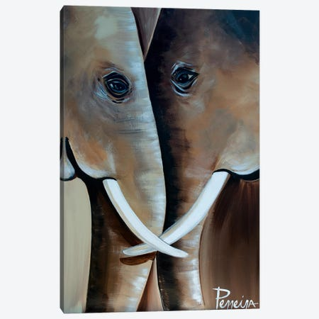 Soulmates Canvas Print #NPE23} by Nigel Perreira Canvas Art