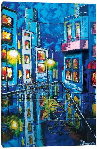Streetscape Canvas Art Print