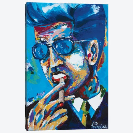 Chillin Canvas Print #NPE7} by Nigel Perreira Canvas Art