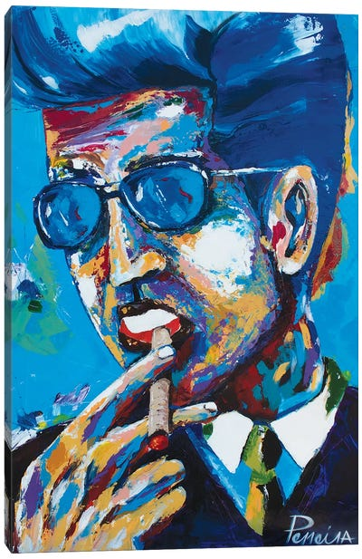 Chillin Canvas Art Print