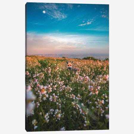 Flower Child Canvas Print #NPH16} by Nirs Photography Canvas Art Print