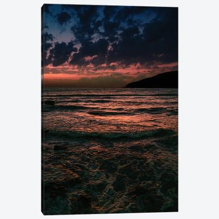 Harsh Sea Canvas Print #NPH21} by Nirs Photography Canvas Art Print