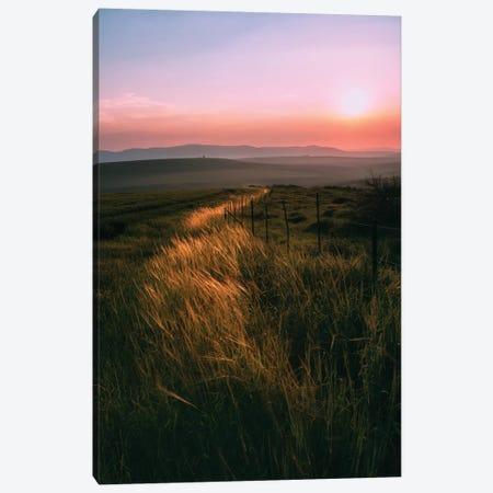 Light Trail Canvas Print #NPH26} by Nirs Photography Canvas Artwork