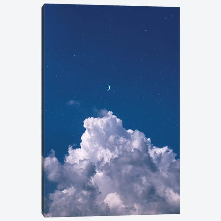 Over The Clouds Canvas Print #NPH40} by Nirs Photography Art Print