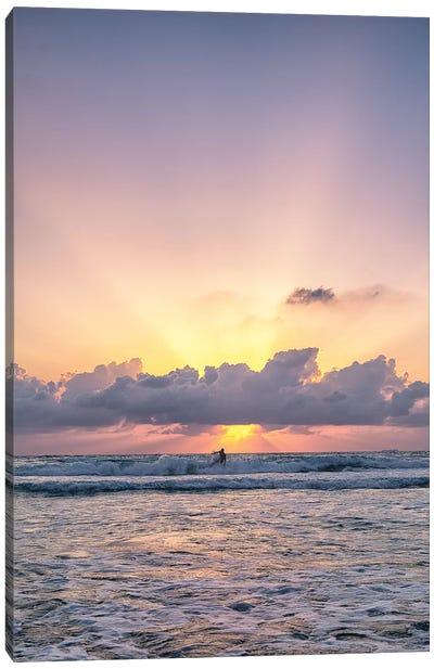 Sun Surf Canvas Art Print