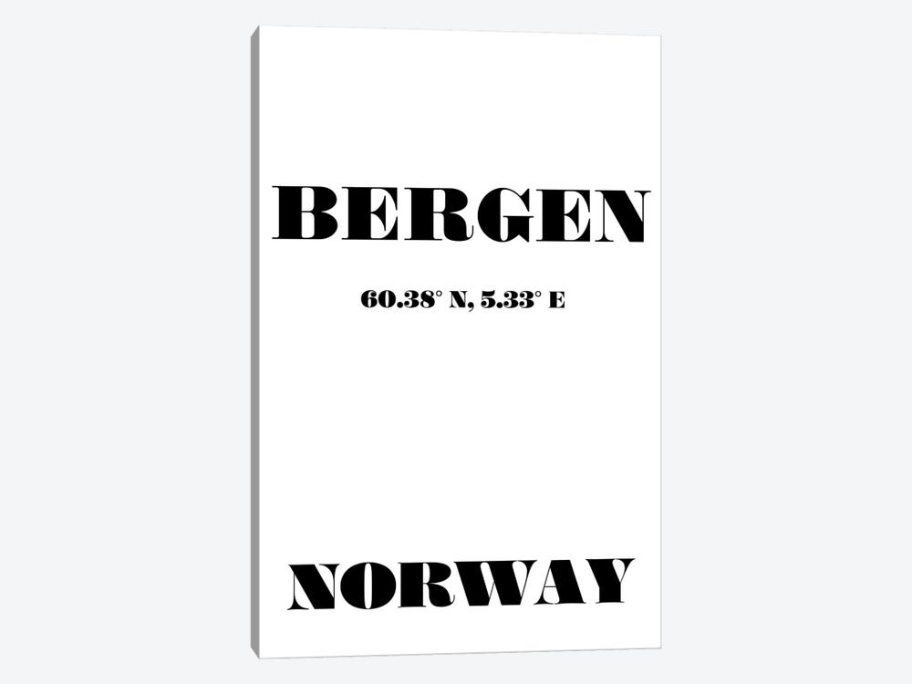 Bergen - Coordinates by Nordic Print Studio 1-piece Canvas Print