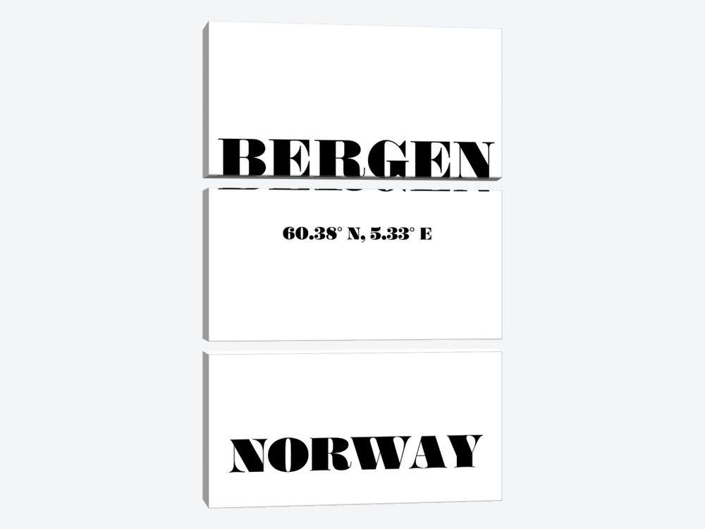 Bergen - Coordinates by Nordic Print Studio 3-piece Art Print