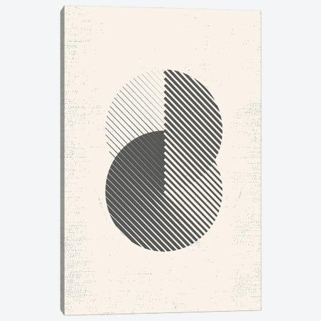 Mid Century Modern Geometry I Canvas Print #NPS111} by Nordic Print Studio Canvas Wall Art