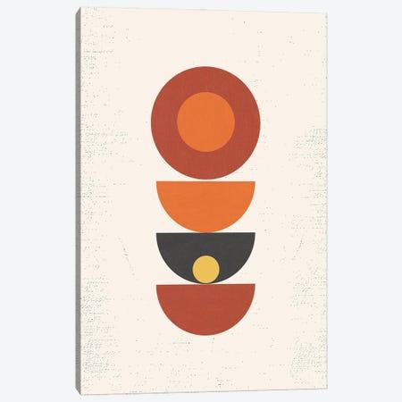 Mid Century Pop Modern Geometry Canvas Print #NPS114} by Nordic Print Studio Canvas Art Print
